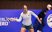 Alphen aan den Rijn, Netherlands, December 16, 2018, Tennispark Nieuwe Sloot, Ned. Loterij NK Tennis, Womans : Lesley Kerkhove (NED)<br /> Photo: Tennisimages/Henk Koster