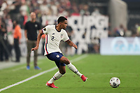 LAS VEGAS, NV - AUGUST 1: Reggie Cannon #2 of the United States during a game between Mexico and USMNT at Allegiant Stadium on August 1, 2021 in Las Vegas, Nevada.