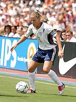Kristine Lilly, USWNT vs Brazil.