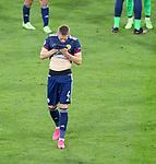 22.06.2021 Croatia v Scotland: Scott McTominay dejection