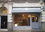 Exterior, Club Gascon Restaurant, Hoxton, London, Great Britain, Europe
