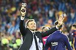 FC Barcelona's Luis Enrique during Spanish Kings Cup Final match. May 22,2016. (ALTERPHOTOS/Rodrigo Jimenez)
