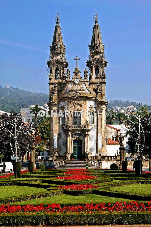Igreja Senhor dos Passos em Guimarães. Portugal. 2005. Foto de Rogério Reis.