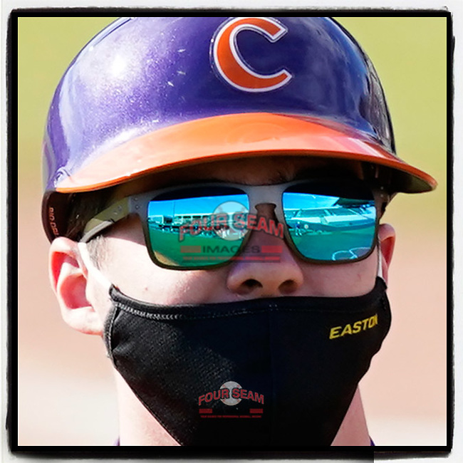 This has become the face of fall baseball, 2020. (Tom Priddy/Four Seam Images) #Clemson