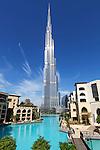 United Arab Emirates, Dubai: Burj Khalifa, the world's tallest building | Vereinigte Arabische Emirate, Dubai: das Burj Khalifa