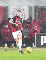 Milano  23-12-2020<br /> Stadio Giuseppe Meazza<br /> Campionato Serie A Tim 2020/21<br /> Milan Lazio<br /> nella foto:   Alessio Romagnoli                                                       <br /> Antonio Saia