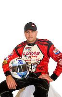 Mar. 18, 2011; Chandler, AZ, USA;  LOORRS driver Carl Renezeder poses for a portrait at Firebird International Raceway. Mandatory Credit: Mark J. Rebilas