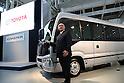 Toyota displays new mini-bus Coaster