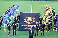 Actio photo during the match Brasil vs Ecuador, at Rose Bowl Stadium Copa America Centenario 2016. ---Foto  de accion durante el partido Brasil vs Ecuador, En el Estadio Rose Bowl, Partido Correspondiante al Grupo -B-  de la Copa America Centenario USA 2016, en la foto: <br /> <br /> --- 04/06/2016/MEXSPORT/ German Alegria.