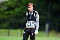 Jay Fulton of Swansea City during the Swansea City Training Session at The Fairwood Training Ground, Wales, UK. Tuesday 11th September 2018