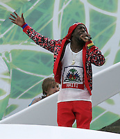 Wyclef Jean.  Italy defeated France on penalty kicks after leaving the score tied, 1-1, in regulation time in the FIFA World Cup final match at Olympic Stadium in Berlin, Germany, July 9, 2006.