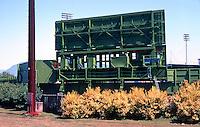 Ballparks: Nat Bailey Stadium, Vancouver, B.C. Scoreboard.
