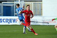 O's Dnny Johnson equalises and celebrates during Barrow vs Leyton Orient, Sky Bet EFL League 2 Football at the The Progression Solicitors Stadium on 10th October 2020