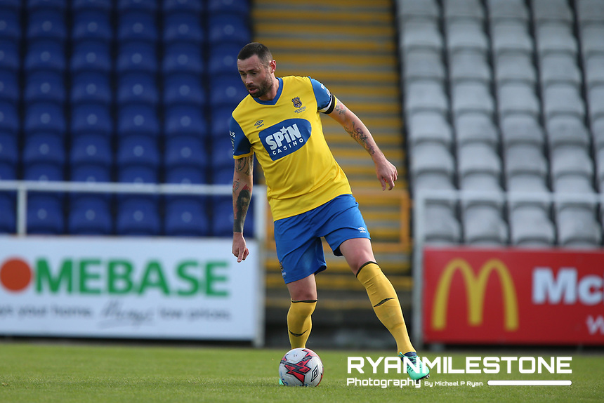 Damien Delaney of Waterford during the pre-season friendly game between Waterford FC and Limerick FC on Sunday 27th January 2019 at the RSC, Waterford. Mandatory Credit: Michael P Ryan.
