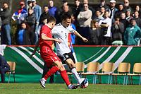 Dominik Franke (Deutschland, RB Leipzig) - 25.03.2017: U19 Deutschland vs. Serbien, Sportpark Kelsterbach