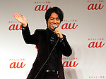 December 20, 2016, Tokyo, Japan - Japanese actor Kenta Kiritani attends a promotional event of Japanese telecom giant KDDI in Tokyo on Tuesday, December 20, 2016. Kiritani sung songs before his fans for a Christmas gift.  (Photo by Yoshio Tsunoda/AFLO) LWX -ytd-