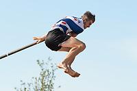 FIERLJEPPEN: BURGUM: 19-09-2020, NK Fierljeppen, Ysbrand Galama, ©foto Martin de Jong