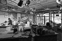 Montreal (Qc) CANADA - 1987 File Photo  -Benoit Dufresne, Chom FM radio Host join Musique Plus -