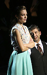 """Laura Osnes and Tony Yazbeck during the Manhattan Concert Productions 25th Anniversary concert performance of """"Crazy for You"""" at David Geffen Hall, Lincoln Center on February 19, 2017 in New York City."""