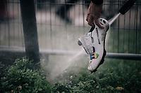 cleaning of the rainbow shoes <br /> <br /> Super Prestige Ruddervoorde / Belgium 2017