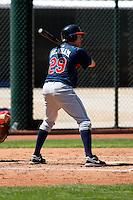Jason Denham -  Cleveland Indians - 2009 spring training.Photo by:  Bill Mitchell/Four Seam Images