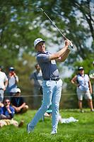 5th June 2021; Dublin, Ohio, USA; Bo Hoag (USA) watches his tee shot on 12 during the Memorial Tournament Rd3 at Muirfield Village Golf Club on June 5, 2021 in Dublin, Ohio.