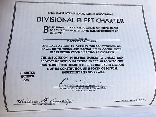 Holywood Snipe Class Charter courtesy Joe Campbell Holywood YC