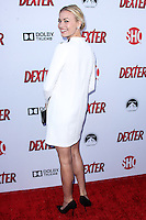 HOLLYWOOD, CA - JUNE 15: Yvonne Strahovski arrives at the premiere screening of Showtime's 'Dexter' Season 8 at Milk Studios on June 15, 2013 in Hollywood, California. (Photo by Celebrity Monitor)