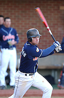 19 Feb. 2005: University of Virginia third baseman Ryan Zimmerman in action against the Bucknell Bison. Zimmerman was named a 2005 Second Team Preseason All-American by Baseball America, Preseason Second Team All-American by the National Collegiate Baseball Writers Association (NCBWA) and Preseason Third Team All-American by Collegiate Baseball. Virginia defeated the Bison at Virginia's Davenport Field in a doubleheader 2-0 and 13-3. (Tom Priddy/Four Seam Images)