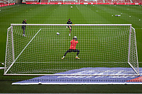 3rd October 2020; Riverside Stadium, Middlesbrough, Cleveland, England; English Football League Championship Football, Middlesbrough versus Barnsley; Marcus Bettinelli of Middlesbrough FC during warm up