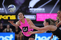 NZ A's Aliyah Dunn in action during the Cadbury Netball Series match between NZ A and NZ Under-21 at the Fly Palmy Arena in Palmerston North, New Zealand on Thursday, 22 October 2020. Photo: Dave Lintott / lintottphoto.co.nz