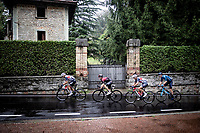 the favourites attacking with 1+ local lap to go while racing in torrential rains at <br /> Grande Trittico Lombardo 2020 (1.Pro/ITA)<br /> 1 day race from Legnano to Varese (200km)