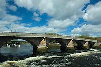 Dumbarton Bridge and the River Leven, Dumbarton