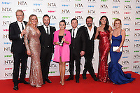 I'm a Celebrity... 2016 cast<br /> in the winners room at the National TV Awards 2017 held at the O2 Arena, Greenwich, London.<br /> <br /> <br /> ©Ash Knotek  D3221  25/01/2017