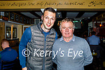 Enjoying the evening in the Brogue Inn on Saturday, l to r: John Moynihan and Sylvie O'Sullivan from Tralee.