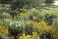 HB06-098x  Flower Garden.