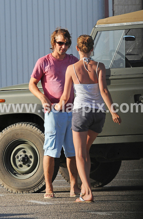 **ALL ROUND EXCLUSIVE PICTURES FROM SOLARPIX.COM**.**WORLDWIDE SYNDICATION RIGHTS EXCLUDING SPAIN - NO PUBLICATION IN SPAIN**.Pics show James Blunt in the usual situation, surrounded by a group of beautiful women while out and about in Ibiza..This girl seems to be a regular as she has been seen with James three days running.Has James found Love again This pic:  James Blunt is greeted by his girl friend when he arrives at the marina in Ibiza Town..JOB REF:   9618    RMJ       DATE: 27.07.09.**MUST CREDIT SOLARPIX.COM OR DOUBLE FEE WILL BE CHARGED**.**MUST NOTIFY SOLARPIX OF ONLINE USAGE**.**CALL US ON: +34 952 811 768 or LOW RATE FROM UK 0844 617 7637**