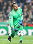 Real Madrid's Keylor Navas during Champions League 2016/2017 Round of 16 1st leg match. February 15,2017. (ALTERPHOTOS/Acero)
