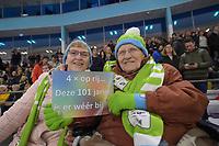 SCHAATSEN: HEERENVEEN: 26-01-2020, IJsstadion Thialf, NK Sprint & Allround, de 101 jarige Johanna Tjaaktje Tonkes - Hollé uit Muntendam en haar dochter Karin Danëls, ©foto Martin de Jong