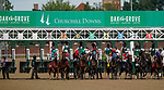 September 4, 2020: Monomoy Girl, #8, ridden by Florent Geroux, wins the La Troienne on Kentucky Oaks Day. The races are being run without fans due to the coronavirus pandemic that has gripped the world and nation for much of the year, with only essential personnel, media and ownership connections allowed to attend at Churchill Downs in Louisville, Kentucky. Scott Serio/Eclipse Sportswire/CSM