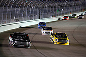 NASCAR Camping World Truck Series<br /> Ford EcoBoost 200<br /> Homestead-Miami Speedway, Homestead, FL USA<br /> Friday 17 November 2017<br /> Noah Gragson, Switch Toyota Tundra, Grant Enfinger, Champion Power Equipment Toyota Tundra<br /> World Copyright: Michael L. Levitt<br /> LAT Images