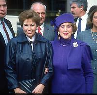 Raisa Gorbachev Estee Lauder 1992<br /> Photo by Adam Scull/PHOTOlink