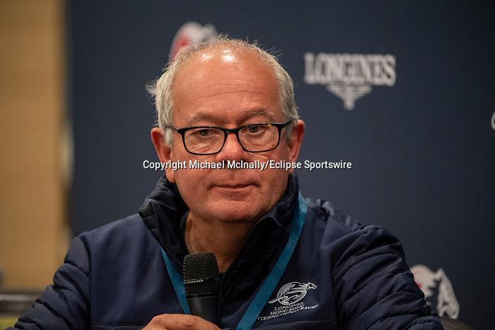 SHA TIN, HONG KONG – December 5:Steve Moran at the Press conference at Sha Tin Race Course in Hong Kong. Michael McInally/Eclipse Sportswire/CSM