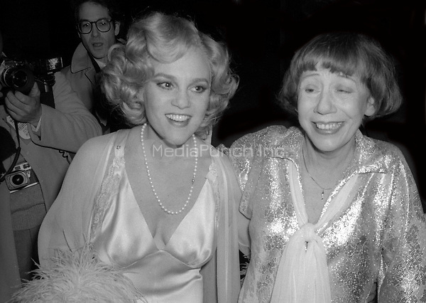 Madeline Kahn and Imogene Coca 1978<br /> Photo By Adam Scull/PHOTOlink /MediaPunch