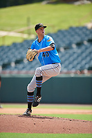 Akron RubberDucks pitcher Jake Paulson (40) during an Eastern League game against the Bowie Baysox on May 30, 2019 at Prince George's Stadium in Bowie, Maryland.  Akron defeated Bowie 9-5.  (Mike Janes/Four Seam Images)