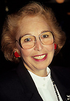 Montreal (Qc) CANADA - File Photo - Sheila Finestone.<br /> <br /> Sheila Finestone passed away Monday June 8 2009 at 82.<br /> <br /> She was elected for the Liberal Party in  the 1984 Canadian election, in the former riding of Pierre-Eliott Trudeau. Later on she was a member of Canada Senate.