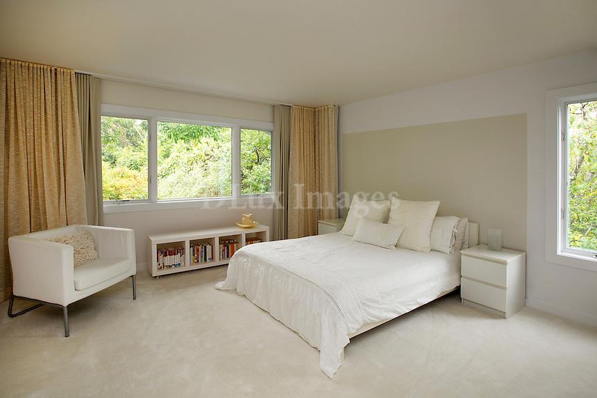 Modern New England style bedroom