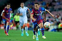 20th September 2021; Nou Camp, Barcelona, Spain; La Liga football league, FC Barcelona versus Granada CF;  Sergino Dest of FC Barcelona during the Liga match between FC Barcelona and Granada CF .