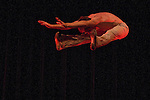 """Texas Dance Theatre's Dan Westfield perform in a piece called """"Adam and Eve and God:  a dance for two"""" at Scott Theater in Fort Worth on April 30, 2010.  (photo by Khampha Bouaphanh)"""
