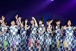 November 8, 2012, Tokyo, Japan - Nogizaka 48 performs on the catwalk during Girls Award 2012 Autumn/Winter at the Yoyogi National Gymnasium in Shibuya, Japan. (Photo by Yumeto Yamazaki/Nippon News)